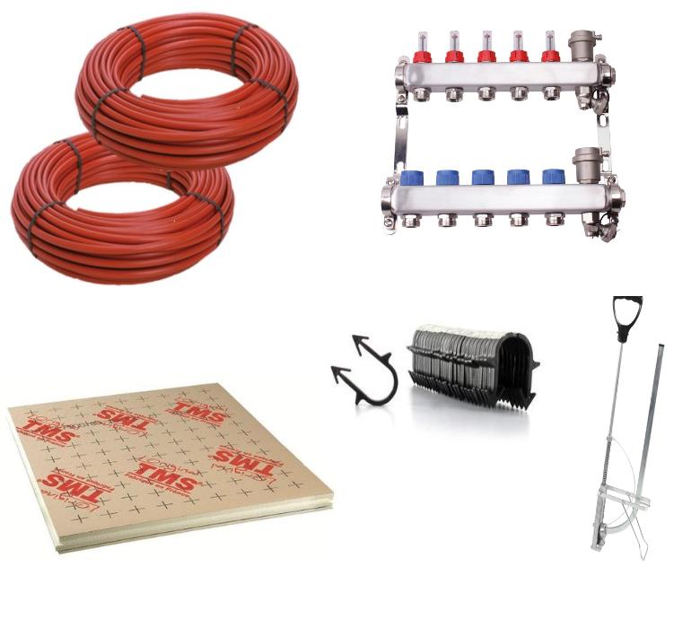 Un kit complet pour le chauffage basse température au sol
